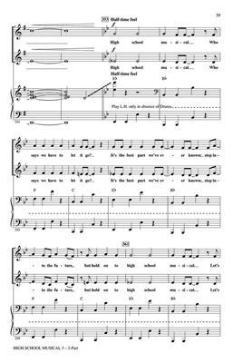 High School Musical 3 (Choral Medley): Arr. (Mac Huff): 2-Part Choir