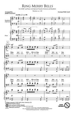 Ring Merry Bells: Arr. (John Leavitt): SATB