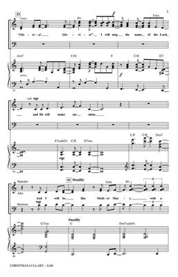 Jason Robert Brown: Christmas Lullaby: Arr. (Mac Huff): SAB