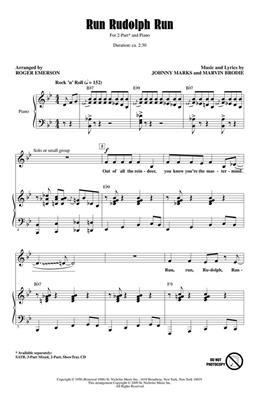 Chuck Berry: Run Rudolph Run: Mixed Choir