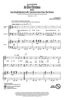 Elvis Presley: An Elvis Christmas: Arr. (Roger Emerson): SAB