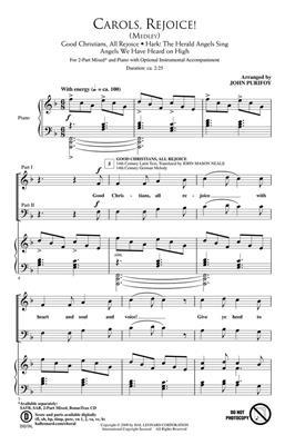 Carols, Rejoice!: Arr. (John Purifoy): 2-Part Choir