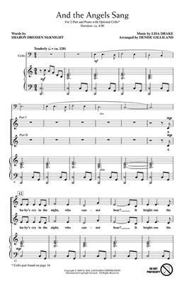 Lisa Drake: And the Angels Sang: Arr. (Denise Gilliland): 2-Part Choir