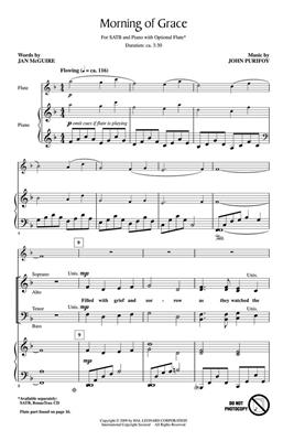 Jan McGuire: Morning of Grace: SATB