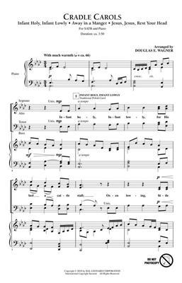 Cradle Carols: Arr. (Douglas E. Wagner): SATB