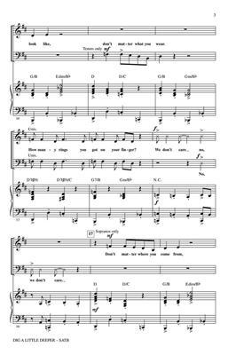 Randy Newman: Dig a Little Deeper: Mixed Choir