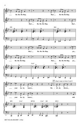 Lionel Hampton: Hey! Ba-ba-re-bop: Mixed Choir