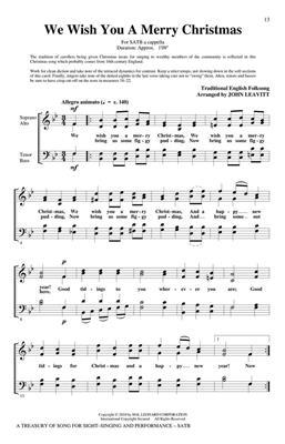 A Treasury Of Song : SATB