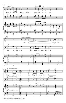 Traditional: Sing We Now of Christmas: Arr. (John Leavitt): Mixed Choir