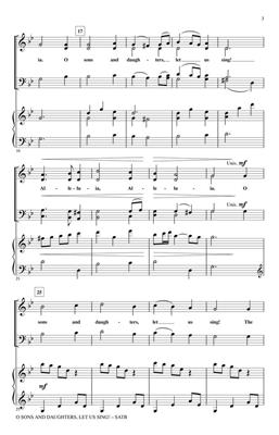 Traditional: O Sons and Daughters, Let Us Sing!: Arr. (Penny Rodriguez): SATB