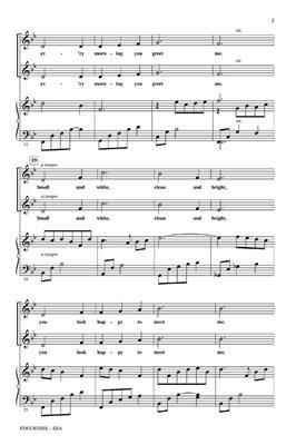 Oscar Hammerstein II: Edelweiss (from The Sound of Music): Women's Choir