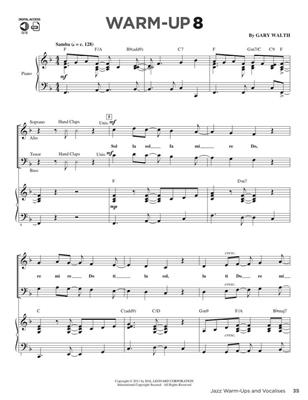 Jazz Warm-Ups And Vocalises: Vocal