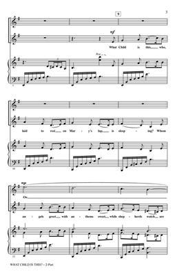 What Child Is This?: Arr. (John Leavitt): 2-Part Choir