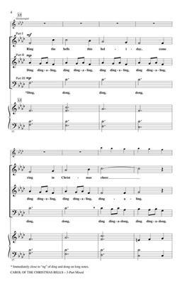 Hal Leonard: Carol of the Christmas Bells