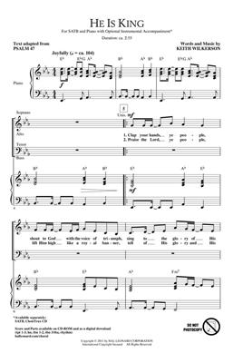 Keith Wilkerson: He is King: SATB