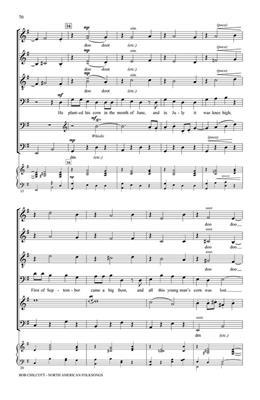 The King's Singers: Bob Chilcott - North American Folksongs: Arr. (Bob Chilcott): SATB