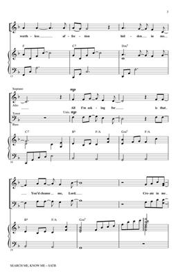 Kathryn Scott: Search Me, Know Me: Arr. (Keith Christopher): SATB