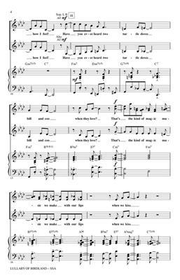 George Shearing: Lullaby of Birdland: Arr. (Joy Ondra Hirokawa): SSA