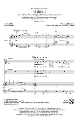 Victoria Shaw: FaLaLaLaLa: Mixed Choir