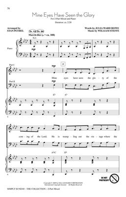 Simply Sunday - The Collection: Arr. (Gary Lanier): 2-Part Choir
