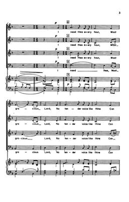 Robert Lowry: I Need Thee Every Hour: Arr. (Darwin Wolford): SATB