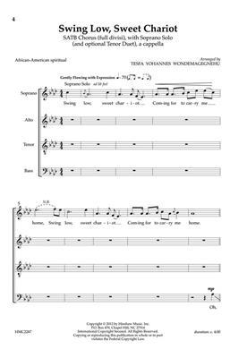 Tesfa Wondemagnegnhu: Swing Low, Sweet Chariot: Mixed Choir