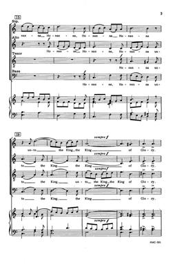 Katherine K. Davis: To The King Of Glory: Arr. (Katherine K. Davis): SATB