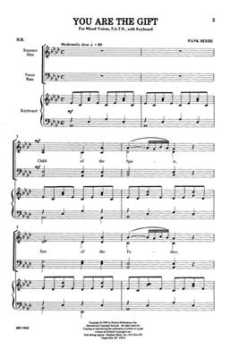 Hank Beebe: You Are The Gift: Arr. (Hank Beebe): SATB