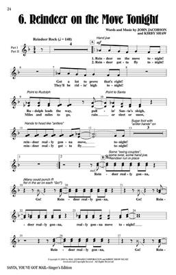John Jacobson: Santa, You've Got Mail Holiday Musical: Mixed Choir