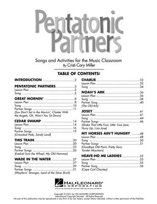 Cristi Cary Miller: Pentatonic Partners: Vocal