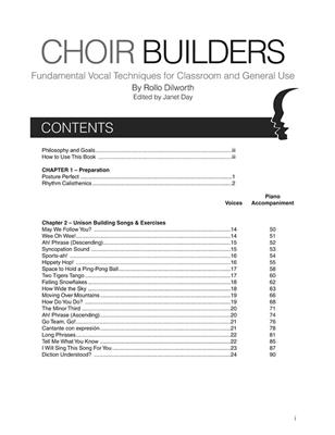 Rollo Dilworth: Choir Builders: Vocal