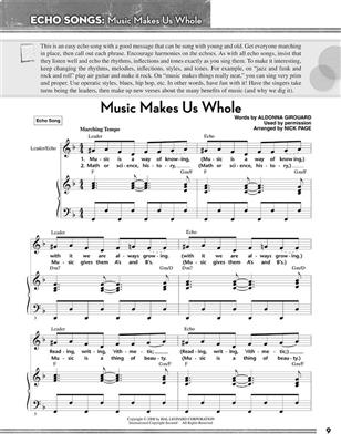 Nick Page: Nick Page Sing With Us Songbook: Voice