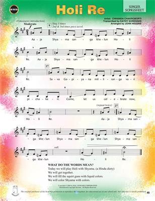 Festivals & Folksongs Around the World: Arr. (John Higgins): Mixed Choir