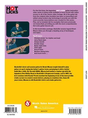 Brent Mason: Brent Mason-Nashville Chops & Western Swing Guitar: Guitar