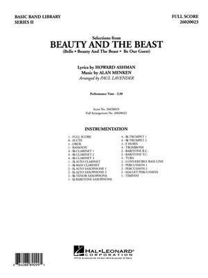 Alan Menken: Selections from Beauty and the Beast: Arr. (Paul Lavender): Concert Band