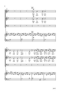 Johann Sebastian Bach: Bist Du Bei Mir: Arr. (Russell L. Robinson): 3-Part Choir