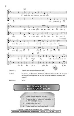 Greg Gilpin: How To Be A Pirate In Seven Easy Songs: Vocal