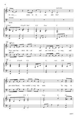Chris Rice: Untitled Hymn: Arr. (Patti Drennan): SATB