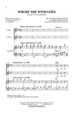 Greg Gilpin: Where The Wind Goes: Mixed Choir