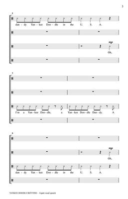 Greg Gilpin: Yankee Doodle Rhythm: Mixed Choir