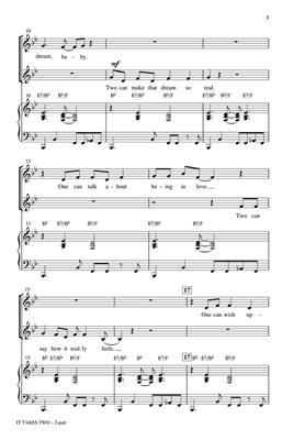 William Stevenson: It Takes Two: Mixed Choir