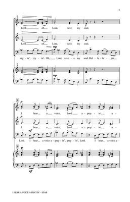 Houston Bright: I Hear a Voice A-Prayin': Mixed Choir