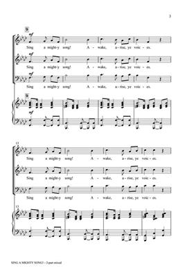 Greg Gilpin: Sing a Mighty Song!: Mixed Choir