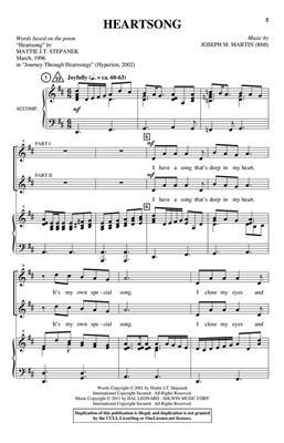 Joseph Martin: Heartsongs: 2 or 3-Part Choir