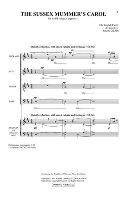 Greg Gilpin: The Sussex Mummer's Carol: Mixed Choir