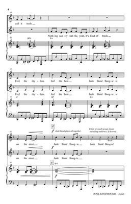 Greg Gilpin: Junk Band Boogie: Mixed Choir