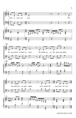 Keith Getty: Creation Sings the Father's Song: Arr. (James Koerts): SATB