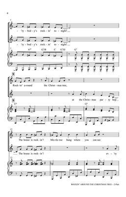Johnny Marks: Rockin' Around the Christmas Tree: Arr. (Jill Gallina): 2-Part Choir