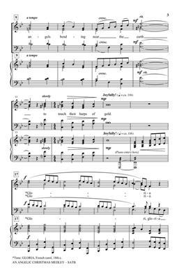 Greg Gilpin: An Angelic Christmas Medley: Mixed Choir