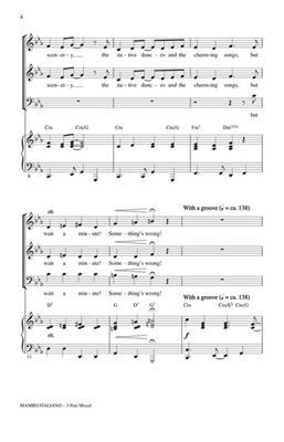 Bob Merrill: Mambo Italiano: Arr. (Jill Gallina): 3-Part Choir